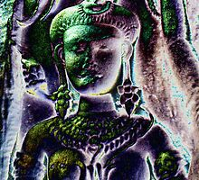 Angkor Wat Apsara.. by liqwidrok