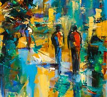 A walk in the city by Elise Palmigiani