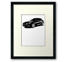 Mazda 3 2014 Framed Print