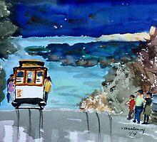 San Francisco trolley by redpaint