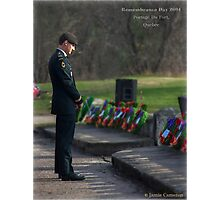 Remembering The Fallen Photographic Print