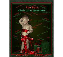 The Christmas Present Photographic Print