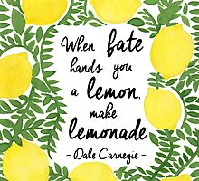 Let's Make a Lemonade (Quote Stuffs Version) by haidishabrina