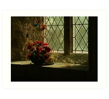Remembrance {St Wilfrid's, Burnsall, Yourkshire Dales] Art Print