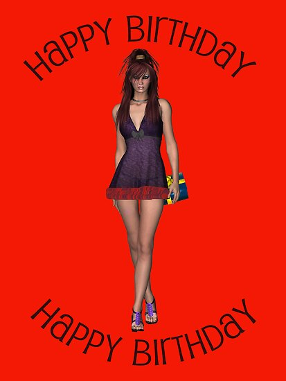 Happy Birthday by Catherine Crimmins