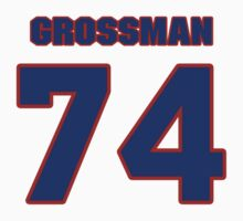 National football player Rex Grossman jersey 74 by imsport