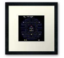 Pac-Wars Framed Print