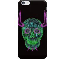 skull of unkindness  iPhone Case/Skin