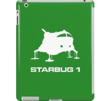 The Green Fat One (white version) iPad Case/Skin