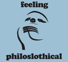Feeling Philoslothical Kids Clothes