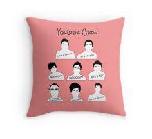 Joe sugg throw pillows redbubble