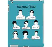 Youtube Crew iPad Case/Skin