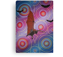Fruit bat dreaming Canvas Print