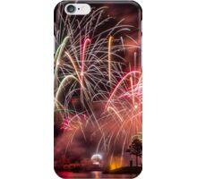 illuminations at epcot.  iPhone Case/Skin