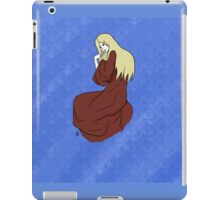 The Lady -with background- iPad Case/Skin