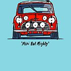 Mini Cooper S 'Mini But Mighty' Sketch by Twain Forsythe