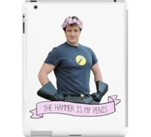The Hammer Is My Penis - Dr Horrible iPad Case/Skin