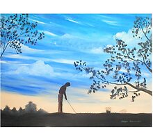 The Golfer by Ginger Lovellette