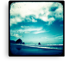 Surreal Seaside Canvas Print