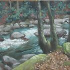 Fall Creek by Linda Eades Blackburn