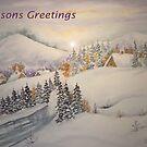 Christmas Card by Ilunia Felczer