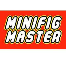MINIFIG MASTER Photographic Print