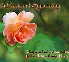 With Deepest Sympathy by Bonnie T.  Barry