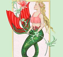 Waterlily Mermaid by SpiceTree