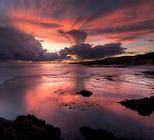 Thunderstorm in Pink by Robert Mullner