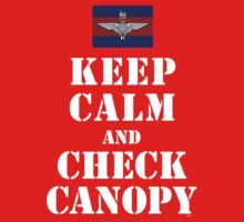 KEEP CALM AND CHECK CANOPY GUARDS PARA Kids Clothes