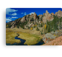 Still The Old West! Canvas Print