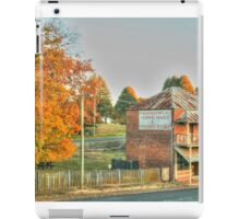Hill End icon in HDR iPad Case/Skin