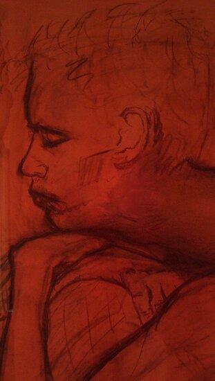 The Almost Sleeping Man by Lisadee Lisa Defazio
