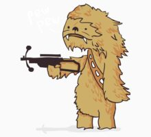 Chewy - pew pew you're dead Kids Clothes
