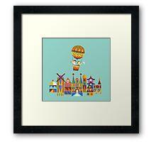 Voyage around the world Framed Print