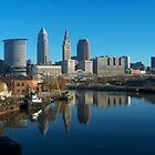 Cleveland, Ohio by Robert Daveant
