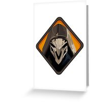 Reaper - Overwatch Greeting Card