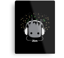 i Am - Cute Groot  Metal Print