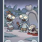 Zombie Romance by dooomcat