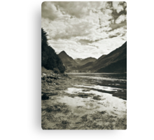 See in mono Canvas Print