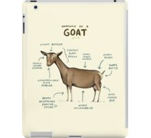 Anatomy of a Goat iPad Case/Skin