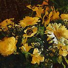 Gerberas - Van Gogh style by Gilberte