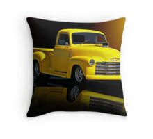 1953 Chevrolet Pickup 'Reflections of Yesterday' Throw Pillow