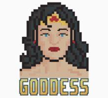 "8 Bit Headshots ""Goddess"" T-Shirt"