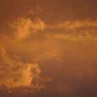 Orange Sky by Bahoke