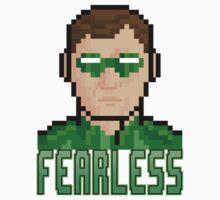 """8 Bit Headshots """"Fearless"""" T-Shirt"""
