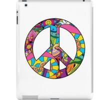 Magic mushroom pattern hippie peace symbol  iPad Case/Skin