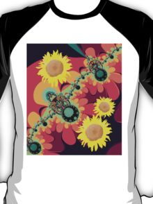 Fantasy design with Sunflowers T-Shirt