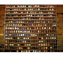 Comic Abstract Wall of Spices Photographic Print