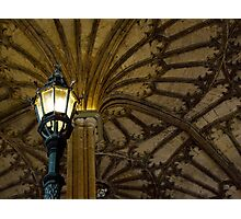 Great Hall Staircase Light Photographic Print